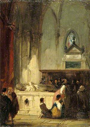 Tomb in the Church of Saint-Omer, France