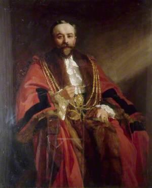 J. E. Stafford, Mayor of Brighton