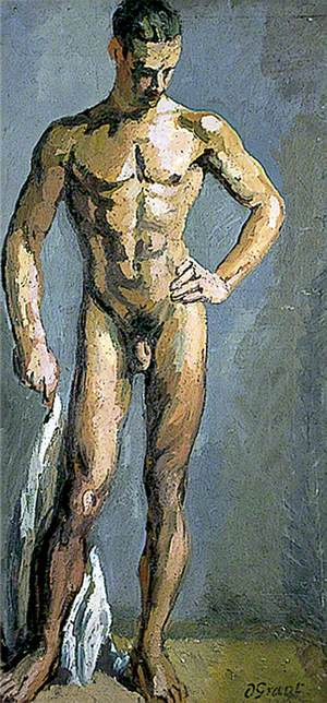 Standing Male Nude (Study of Tony Asserati)