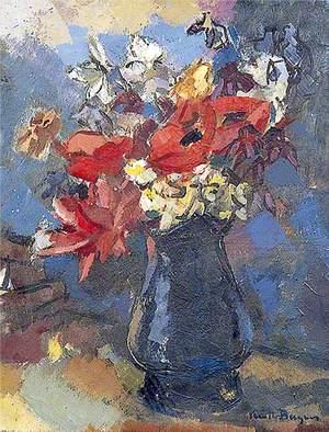Still Life, Flowers in a Jug