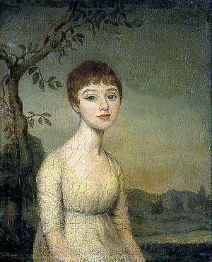 Young Girl in a Landscape