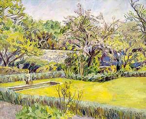 Walled Garden at Charleston, East Sussex
