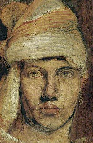 Self Portrait in a Turban