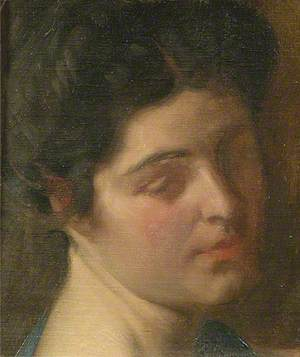 Head of an Unknown Lady