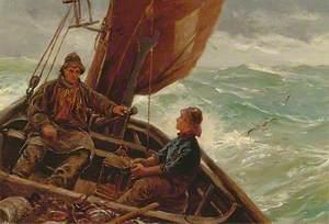 Fishing Boat at Sea