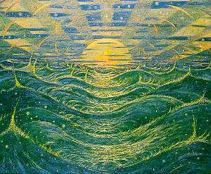 'And the spirit of God moved upon the face of the waters'