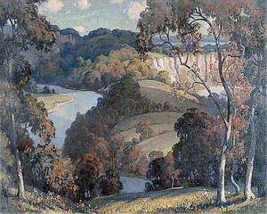 Autumn in the Wye Valley