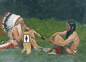 Blackfoot Indians, Montana, USA
