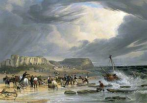 Rescue at Hastings, East Sussex