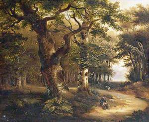 Poacher in a Wood