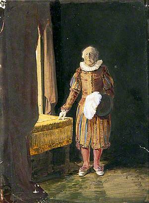 William Phillips Lamb, Mayor of Rye, in His Robes as a Baron of the Cinque Ports