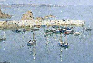 The Harbour at Mevagissey, Cornwall