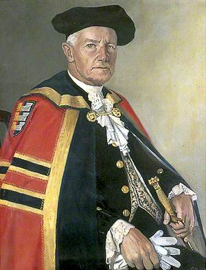 Alderman Burden, Dressed in the Robes of a Baron of the Cinque Ports