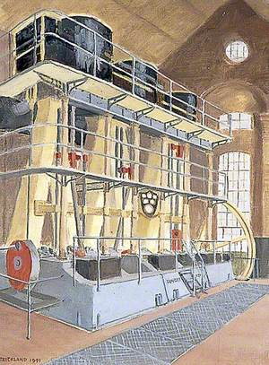 Tangye Engine at Brede Pumping Station, East Sussex
