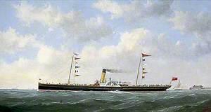 The Steamship 'Carrick Castle'
