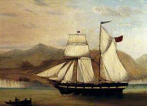 The Schooner 'London', Built at Chester in 1827