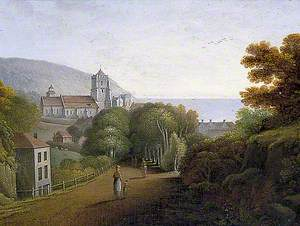 Entrance to Hastings, East Sussex, from London Road