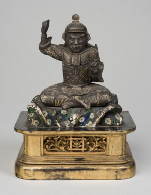 Seated Warrior Figure