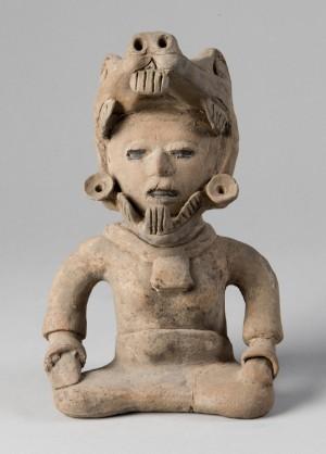 Goddess Figure, Perhaps Tlaltecuhtli