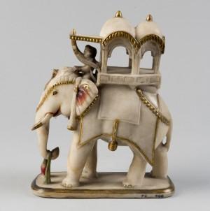Elephant with a Howdah