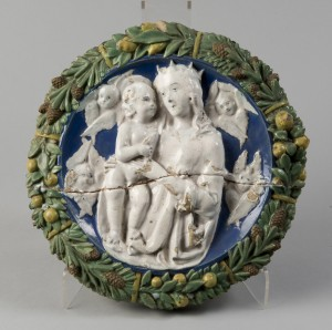 Madonna and Child with Seraphims