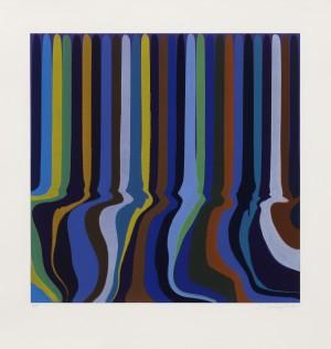 Colorplan Series: Royal Blue Etching