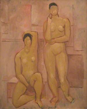 Seated and Standing Nudes