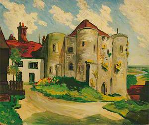 Ypres Tower, Rye, East Sussex, 1930