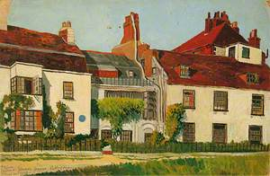 Burne Jones's House, Rottingdean, East Sussex