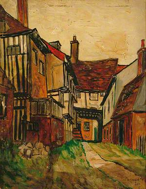 Mermaid Inn, Rye, East Sussex, 1953, Whitsun