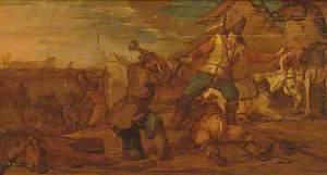 A Scene from Hudibras, Canto II