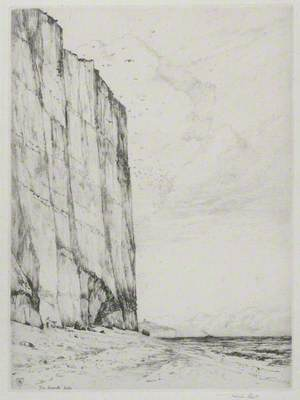 The Seventh Sister (Chalk Cliffs at Cuckmere Haven)