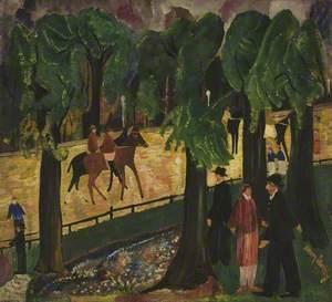 Through the Trees, Hyde Park, London