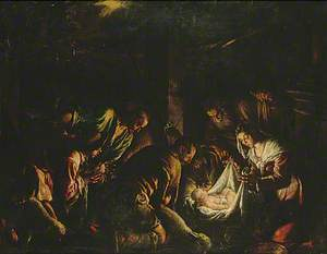 Nativity Scene: The Adoration of the Shepherds