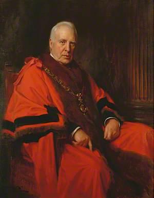 Alderman Sir Charles O'Brien Harding, JP, MRCS, LRCP, Honorary Freeman (Admitted 1919), Mayor of Eastbourne