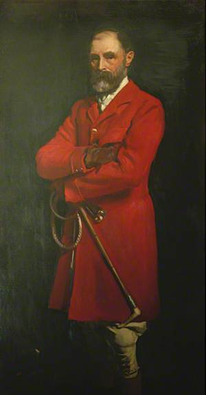 Colonel W. A. Cardwell, Master of Eastbourne Foxhounds (1895–1910) and Mayor of Eastbourne (1886–1887)