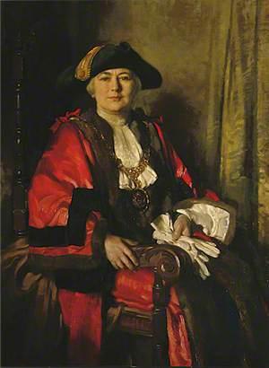 Alderman Miss Alice Hudson, JP, Mayor of Eastbourne (1925–1928 & 1943–1945)