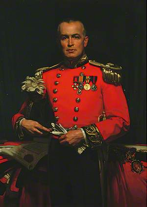 Alderman Lieutenant Colonel Roland Vaughan Gwynne, DSO, DL, JP, Mayor of Eastbourne (1928–1931)