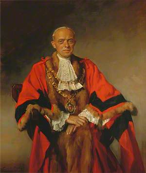 Alderman Arthur Edward Rush, JP, Mayor (1938–1943)