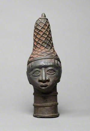 Benin Head with Headdress
