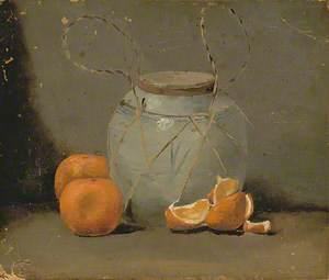 Ginger Jar and Mandarins