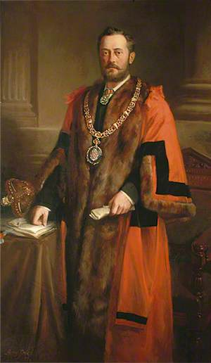 G. A. Wallis, First Mayor of Eastbourne