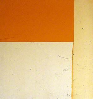 Exposed Painting, Cadmium Orange