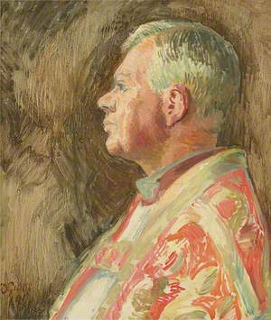 Study for a Portrait of Bishop Bell