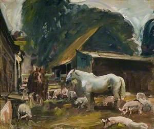 A Farmyard Scene