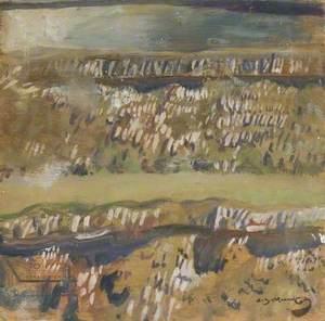 Wall on Bradmoor, Withypool, Exmoor