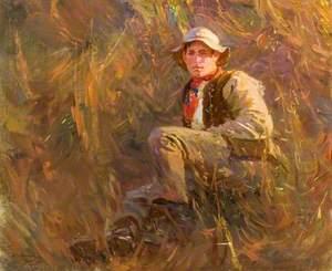 Study of George Curzon, Groom
