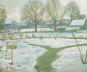 Winter, Castle House