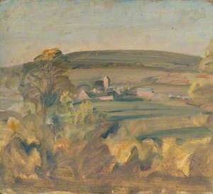 A Landscape with a Distant Village
