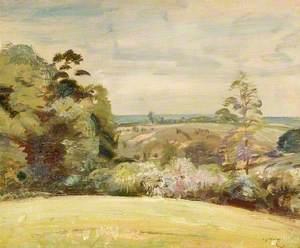 A Spring Landscape, Raydon, Suffolk